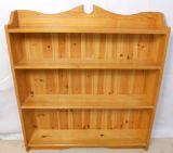 Solid Pine Standing Open Bookshelves